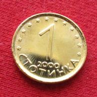 Bulgaria 1 Stotinka 2000 KM# 237 Bulgarie - Bulgaria