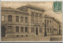Leuven - Louvain - Marché Aux Pommes De Terre - Institut De Bactériologie 1914 - Leuven