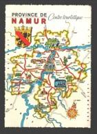 Namur - Province De Namur - Centre Touristique - Cartographie - Non Classés