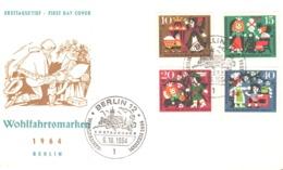 Berlin 1964 FDC  Faire Tales - [5] Berlin