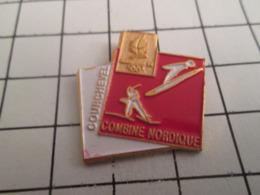 819 Pin's Pins : BEAU ET RARE : Thème JEUX OLYMPIQUES / COMBINE NORDIQUE A COURCHEVEL ALBERTVILLE 1992 - Olympic Games