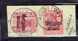OC 14 - Rochefort Départ Le 25-6-1917 - Brussel Arrivée Le 29-6-1917 - Guerre 14-18