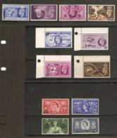 BPA IN EASTERN ARABIA 1948 OLYMPICS, 1949 UPU, 1953 CORONATION SETS MINT NEVER HINGED Cat £19.25 - Unclassified