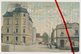 Zwickau Oberplanitz - Hauptstraße - Kaiserliches Postamt - 1914 - Colmar
