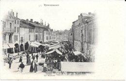 88 - REMIREMONT - Le Marché - Dos Simple - - Remiremont