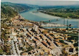 Ardèche : LE POUZIN : Vue Aérienne Générale  - C.p.s.m.- M. - Photo Vérit. Grand Format - - Le Pouzin