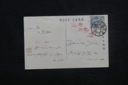 JAPON - Affranchissement Et Oblitération Plaisantes Sur Carte Postale De Kamakura - L 45348 - Brieven En Documenten