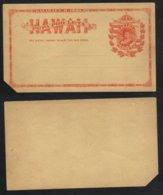 USA - HAWAII / 1881 ENTIER POSTAL ANCIEN (ref 6658) - Hawaii