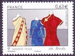 France N° 4824** La Mode - France/Singapour - Le 0.63 Mannequins - Ungebraucht
