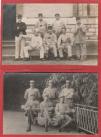 Lot De 10 CPA Militaria - Carte-photo Uniquement - Militaires - - 5 - 99 Postkaarten