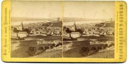 Photos Stéréoscopiques -  Allemagne - Bingen - Panorama  N° 112  -  C 48 - Stereoscopic