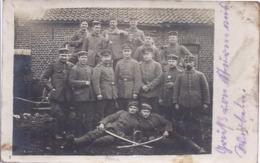 AK-74089-059  -  Fotokarte -  Soldatengruppe Feldpost  46. Reservediv. Aus  1915 - Characters