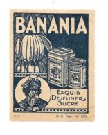 KB535 - GRANDE VIGNETTE BANANIA - Banania