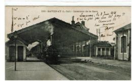 SAVENAY - Intérieur De  La Gare - Savenay