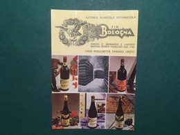 Cartolina Azienda Agricola Vitivinicola - Pin Bologna - 1967 Ca. - Asti