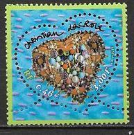 France 2001 N° 3368 Neuf Saint Valentin Christian Lacroix à La Faciale - Unused Stamps