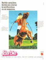 """PUB POUPEE """" BARBIE VIVANTE """"   1978  (28 ) - Barbie"""