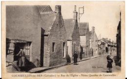 COURSEULLES SUR MER - Rue De L'Eglise - Courseulles-sur-Mer