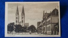Halberstadt Dom Und Paket Postamt Germany - Halberstadt