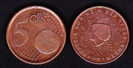 Netherland, Euro - 5 EuroCent / 2001 - Netherlands
