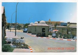 Tunisie--TOZEUR --Maison  (voiture) ---Beau Timbre - Tunesië