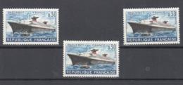 France 1962 Paquebot France N°1325 (cheminée Noire) Neuf ** - Curiosità: 1960-69  Nuovi
