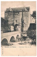 CPA Dos Non Divisé : NAMUR Disparu - L'ancienne Porte De Fer - Namur