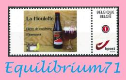 DUOSTAMP** / MYSTAMP** - La Houlette - Bière De Confrérie / Broederschapsbier - Florennes - Biere