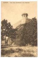 CPA : NAMUR Citadelle Le Donjon - Tour Des Guetteurs Vue Du Bas - Namur