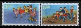 Norway 1998 Noruega / Kids Traditional Games MNH Juegos Infantiles / Kk03  34-5 - Infancia & Juventud