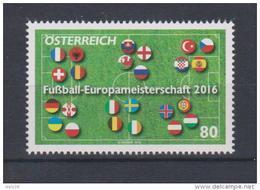 """Österreich 2016:  """"Fußball-EM 2016"""" Postfrisch (siehe Foto/Scan) - 1945-.... 2ème République"""