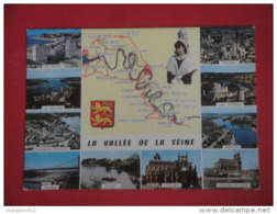 ET/49  / LE HAVRE  LIMAY PACY SUR EURE BONNIERE VERNON VETHEUIL GAILLON SOUVENIR DE LA VALLEE DE LA SEINE  / RECTO VERSO - Francia