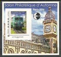 Bloc CNEP N° 73 Salon Paris Automne 2016 Gare De Lyon - CNEP