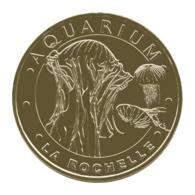 Monnaie De Paris , 2017 , La Rochelle , Aquarium , Les Méduses Striées - Monnaie De Paris