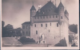 POSTAL SUIZA - LAUSANNE - LE CHATEAU - ED GUGGENHEIM & CIE - FOTOGRAFICA - VD Vaud