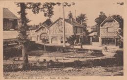 SAINTE GENEVIEVE DES BOIS - Sortie De La Gare - Sainte Genevieve Des Bois