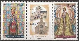 "Andorre YT 641 & 642 "" Jumelage "" 2007 Neuf** - Unused Stamps"