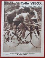 91 MONTLHERY Championnat De France COLLE VELOX - Ciclismo