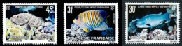 POLYNESIE 1982 - Yv. 174 175 Et 176 **   Cote= 4,75 EUR - Poissons (3 Val.)  ..Réf.POL24488 - Neufs