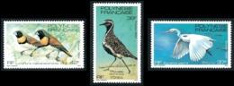 POLYNESIE 1982 - Yv. 189 190 Et 191 **   Cote= 4,70 EUR - Oiseaux (3 Val.)  ..Réf.POL24495 - Neufs