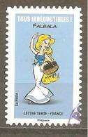 FRANCE 2019 Y T N ° 1??? Oblitéré CACHET ROND FALBALA - Used Stamps