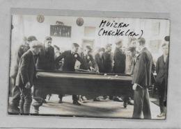 MUIZEN-MUYSEN-MECHELEN: FOTOKAART- BILJARD-VLAAMSCHE KERMIS 15/9/1929-LIJMSPOREN-MET VOLK - Malines