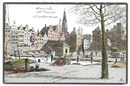 LOT - 18 Kaarten Alfred Ost - Amsterdam. - Mechelen