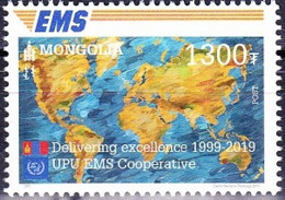 MONGOLIA, 2019, MNH , EMS,1v - Post