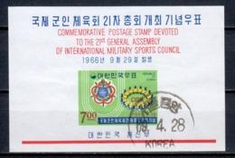 South Korea 1966 Mi Block 236 (2) - Korea (Zuid)