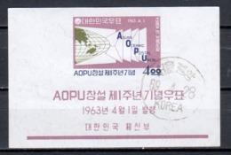 South Korea 1963 Mi Block 180 (2) - Korea (Zuid)