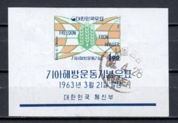 South Korea 1963 Mi Block 179 (2) - Korea (Zuid)