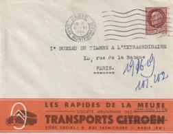 Les Rapides De La Meuse Transport Citroen Juin 44 G . Montparnasse - Transports