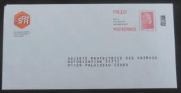 PAP Réponse La SPA  - Agrément 204378  Pas De N° à L'intérieur - Marianne L'Engagée Yseult Digan Alias YZ - Catelin - Postwaardestukken