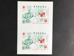 Tuvalu Red Cross 1988 Imperf Sheet - Tuvalu (fr. Elliceinseln)